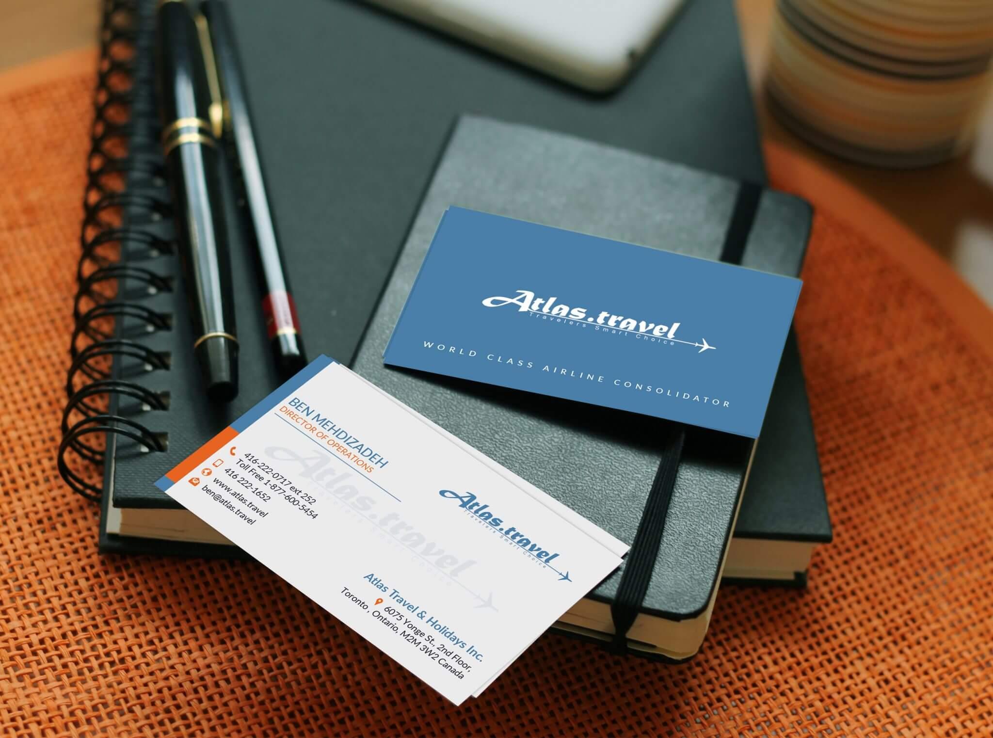 Business Card Design - DESIGNORES